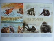 Burundi 2011/2013 - Collection of series and blocks in stock book