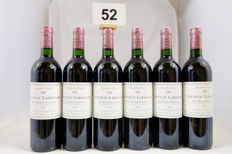 1997 Chateau Larmande, Saint-Emilion Grand Cru Classe, France - 6 Bottles.