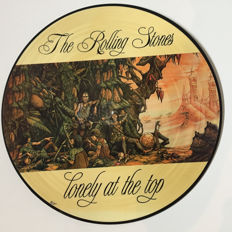 Beautiful and special Picture Disc Rolling Stones - Lonely At The Top