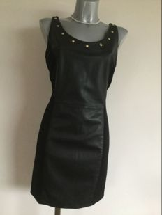 Versace - dress made from lamb leather, very beautiful and sexy