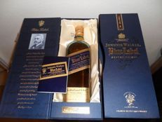 Johnnie Walker Blue Label with special glass