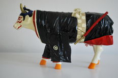 CowParade - Masaki Kawahara - type Kabuki - Large-Retired, in very good condition