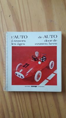 Album L'auto à travers les âges - éditions Coop - with collector's plates in metal - 1964