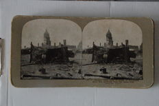 Stereoviews; Earthquake San Fransisco - Griffiths - 1906