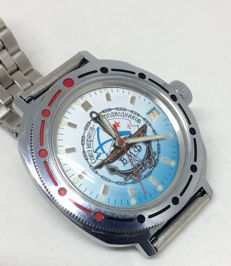 Vostok Amphibian. Men's watch. Russia military