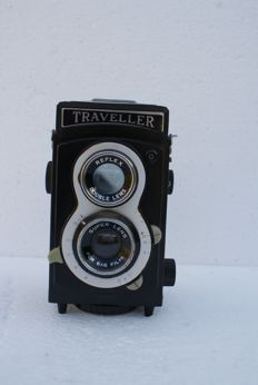 A Traveller Reflex 6 x 6 camera production year unknown