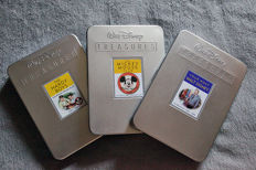 Disney, Walt - Walt Disney Treasures - 3 Collectible DVD Sets - Your Host Walt Disney + The Hardy Boys + The Mickey Mouse Club (2004/2006)