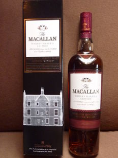 Macallan Whisky Maker's Limited Edition X-Ray Boxes - The Macallan's Pillar No 1 Natural colour