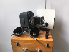 Liesgang Neo-Diafant slide projector with lots of accessories