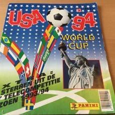 Panini - FIFA World Cup USA '94 - Complete album - Dutch version.