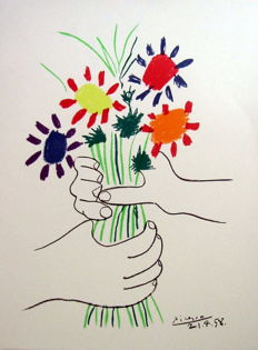 Pablo Picasso (after) - Le bouquet