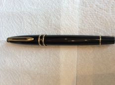 Waterman fountain pen france second half twentieth century black high gloss