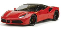 "Bburago ""Signature Series"" - Scale 1/18 - Ferrari 488 GTB - Black"