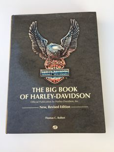Lot de 4 livres - The big book of Harley-Davidson / La moto del mito Harley Davidson / Harley bikers / 3d tribute to an American idol.