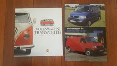 Lot of 2 books of the Volkswagen Transporter