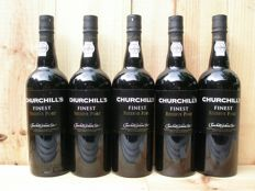 NV Churchill's Finest Reserve Port - 5 bottles