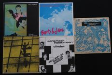 5 Rare Original (New)Wave/experimental Singles: Vice Versa / Bart (Chabot) & Jan / The Toilets / Jan van de Grond Groep / Telium Group