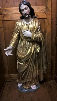 Wooden statue of Jesus - Central Italy - late 17th century