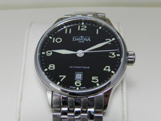 Davosa Classic Automatic Men's watch with see through case back in mint condition Swiss made