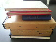 Netherlands and Overseas - Batch in three Davo albums and three stock books