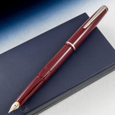 Montegrappa Cortina Bordeaux Fountain Pen | Vintage & Rare