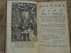 John Bancks -The History of John Duke of Marlborough - Complete - 1741