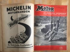 Vintage Motor magazines - Years 1954 and 1961