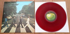 The Beatles- Abbey Road lp/ 1st Japanese pressing, 1969, RED wax, w. original black inner/ VG+