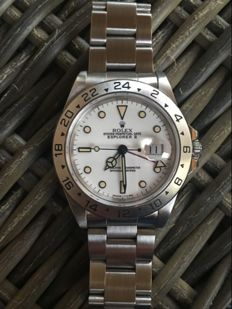 Rolex - Explorer II Chicchi Di Mais - 16570  - Heren - 1990-1999