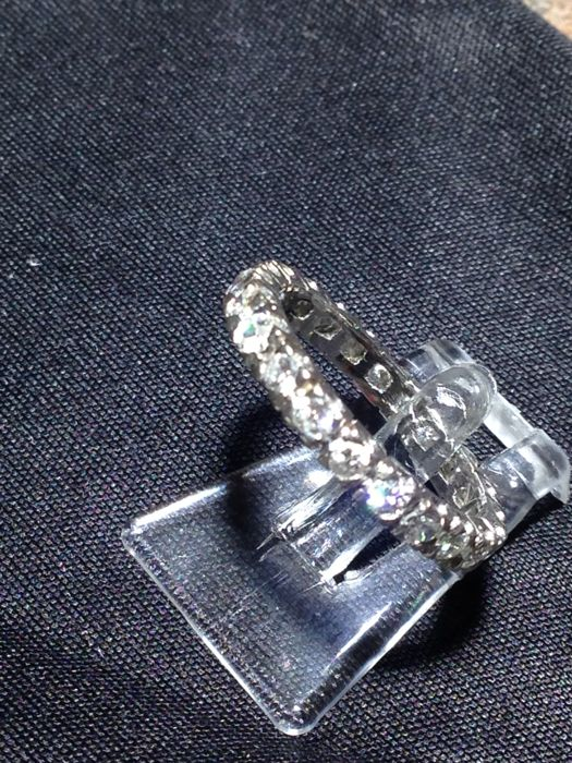 Eternity ring with 1.50 ct diamond