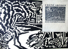 Arcos Das Gemeinsame with 27 woodcuts by Masereel  (1889 - 1972) First Edition 1920, Edition of only 3,400