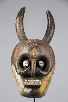 Mask - IJAW ethnic group, IJO subgroup - Nigeria - Africa