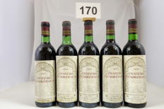 1975 Chateau Beauregard, Saint-Julien, France - 5 Bottles.