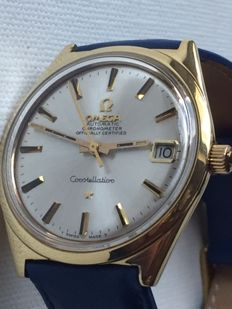 Omega - Constellation- 18K(0.750) - Heren - 1960-1969