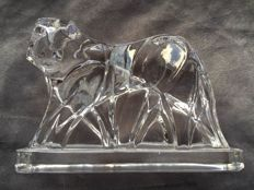 Georges Chevalier for Baccarat - Crystal tiger