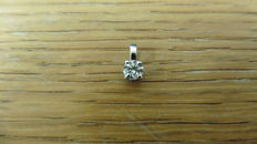 Platinum Diamond Pendant - 0.25ct