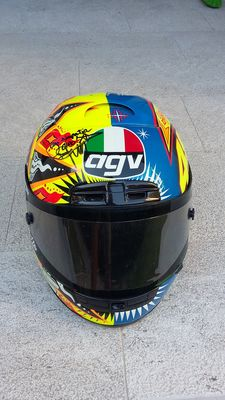Valentino Rossi - AGV helmet - with original signature - 2003