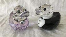 Swarovski - Sir en Lady Duck