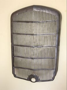 Opel P4 Radiator Grill - Vintage used look front grill - Hot Rod