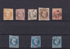 Europe 1870-1960 - Lot made up mainly of stamps from France and Switzerland