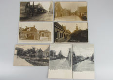 Th Netherlands - Dronrijp / Winsum photo cards - 1932 - 7 cards