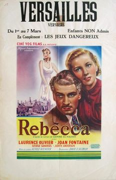 M. Panneels - Rebecca (Alfred Hitchcock, 1940) - 1950s