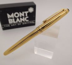 Rollerball Pen MONTBLANC Solitaire Vermeil Silver Barrel