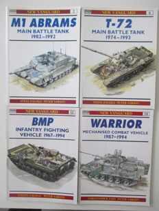 Tanks; Osprey Military. New Vanguard - 4 Volumes - 1993/1994