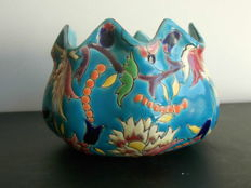 Longwy enamel candy box