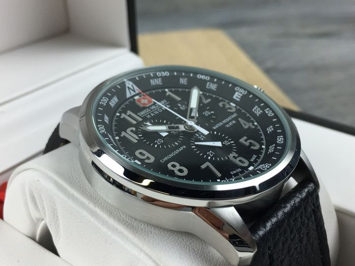 Swiss Military Hanowa Flightmaster Chronograph Referentie 14907x - Herenhorloge - Nieuw