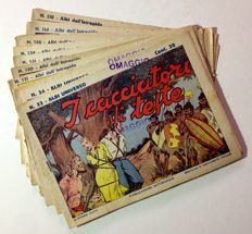 Albi dell'Intrepido - 9x comic albums (1939-42)