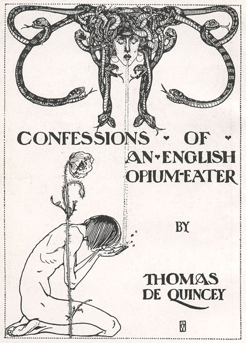 Image result for confessions of an english opium eater