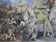 Pablo Picasso (after)  - The Rape of Sabine Woman