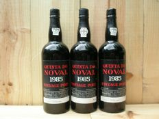 1985 Vintage Port Quinta do Noval - 3 bottles total